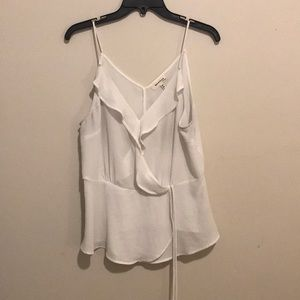 white cami blouse